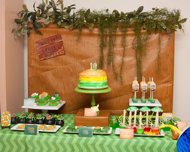 Zelda Video Game Birthday Party Ideas | Photo 36 of 40 | Catch My ...
