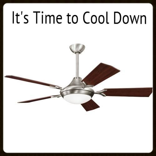 To cool down you must use the fan in a counter clockwise direction