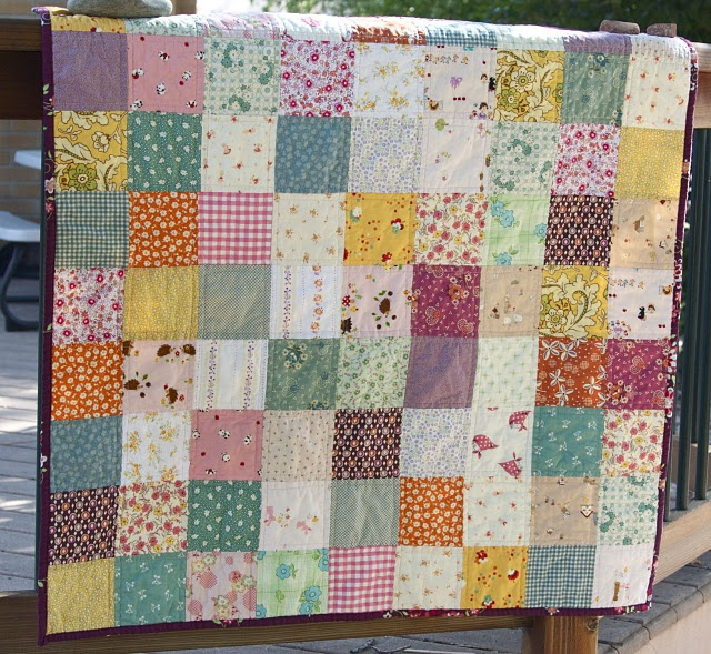 Quilting Patterns Basic : quilt in simple squares crafty Pinterest