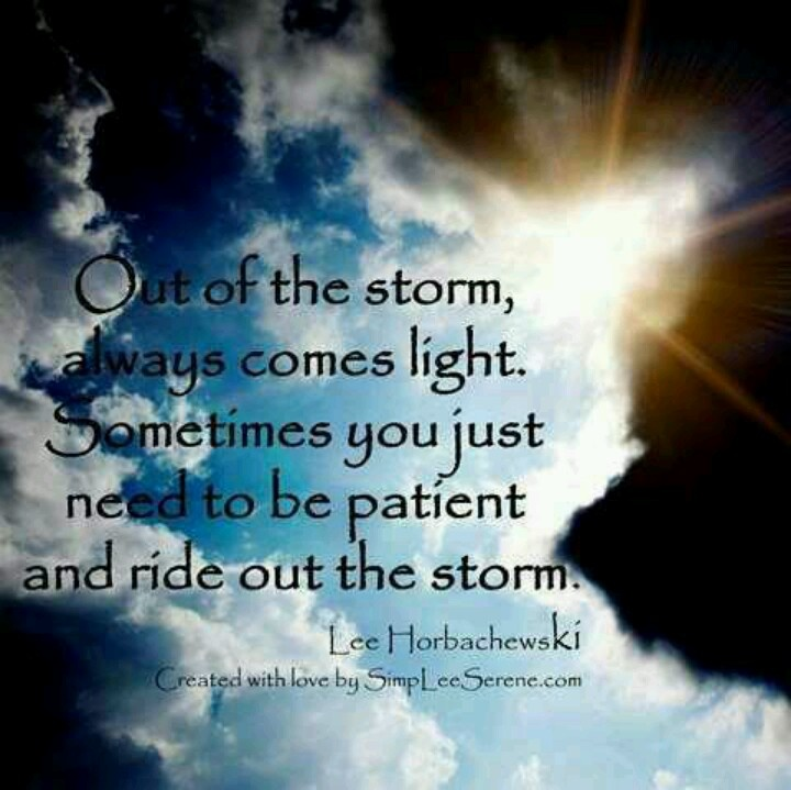 Ride out the storm blessings pinterest