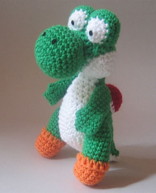 Crochet Patterns Yoshi : ... english and german pattern http www ravelry com patterns library yoshi