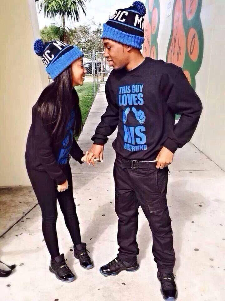 Matching (: | Cute Couples | Pinterest