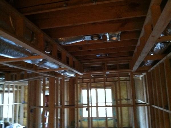 soffit framing basement projects pinterest