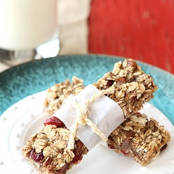 low fat granola bars with bananas cranberries amp pecans recipe from ...