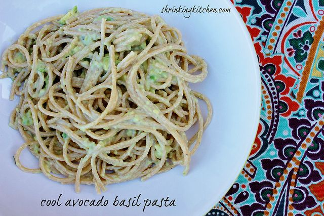 Our Cool Avocado Basil Pasta is dairy free and absolutely delicious! Enjoy it as a main dish or a side!