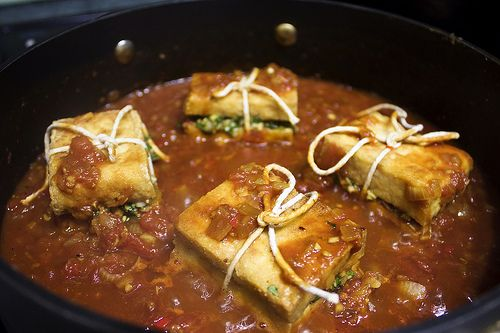 Vegetarian Braised Lemongrass Stuffed Vietnamese Tofu   Recipe by The ...