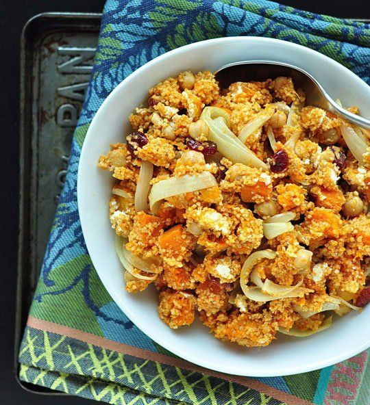 Recipe: Couscous Salad with Butternut Squash and Cranberries