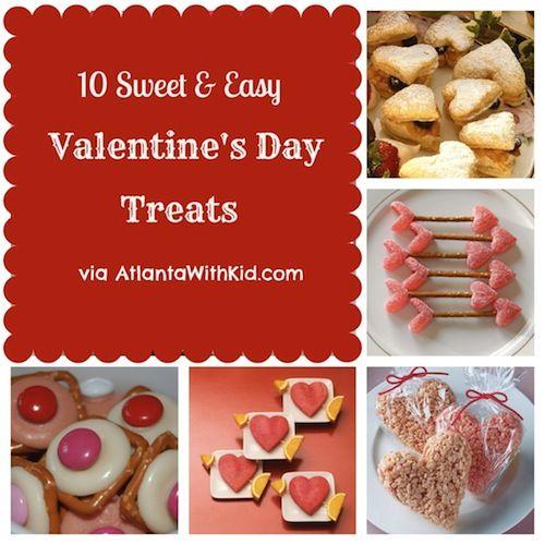 easy valentine snack recipes