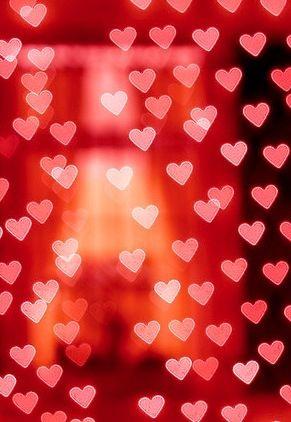 valentine heart light string