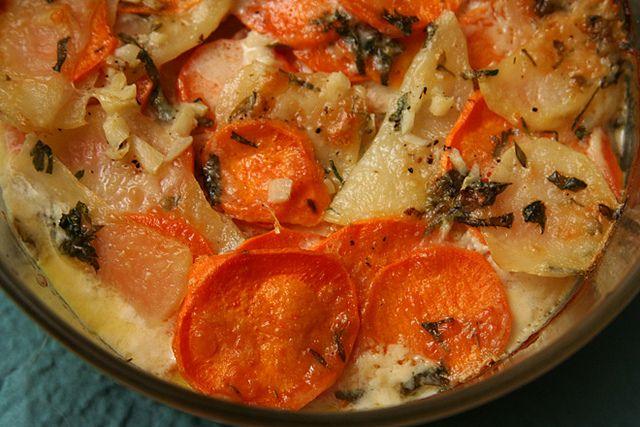 Gratin Of Yukon Gold Potatoes Recipe — Dishmaps