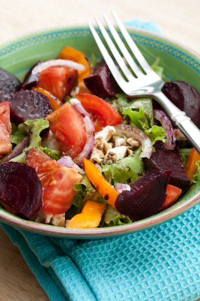 Roasted Beet and Feta Salad. | Good Eats: Recipes to Try | Pinterest