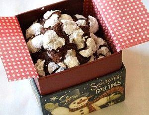 Chocolate Espresso Snowcaps | Recipe Girl
