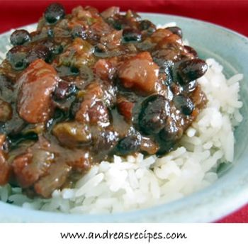 Cuban style black beans | Cooking | Pinterest
