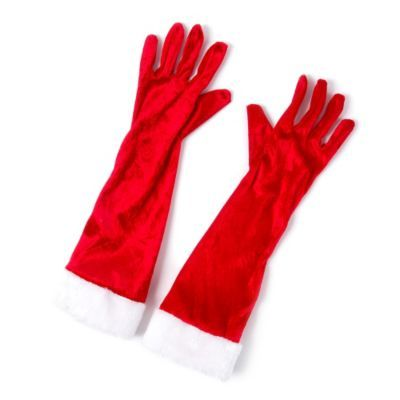 Mrs. Santa Claus Gloves | Oh What Fun! | Pinterest