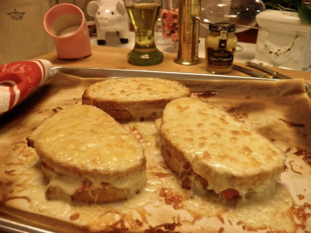 Croque Monsieur** (used to get this at La Madeleine's in Houston ...