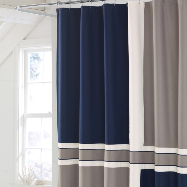 Nautica Sea Pines Shower Curtain. $49.99 | For the Home | Pinterest