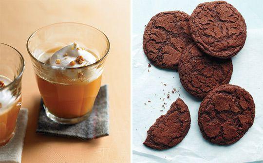 Warm You Up! Vanilla Cider & Spiced Chocolate Cookies Martha Stewart