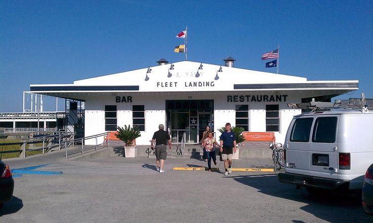 Fleet Landing--where we had dinner in Charleston on our Oct 2013 trip ...: pinterest.com/pin/132434045265724450