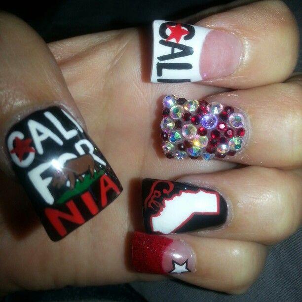 California Nail Art!