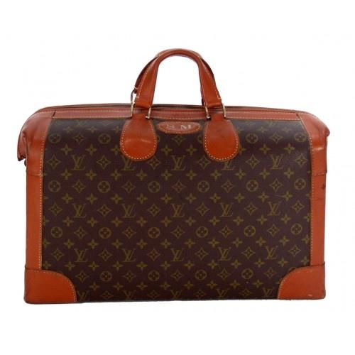 Louis Vuitton Vintage Monogram French Co. Shoe Travel Bag