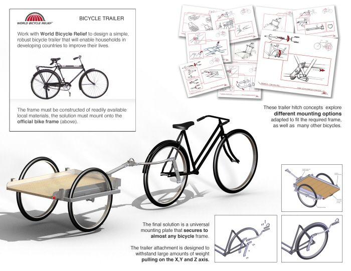 Diy bicycle trailer bike also diy bike trailer plans on homemade