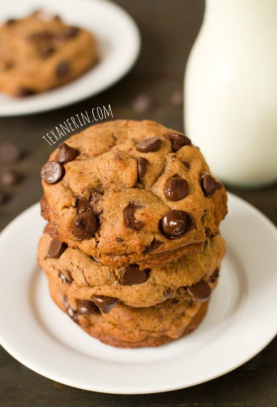 Healthier New York Times Chocolate Chip Cookies – super soft, chewy ...
