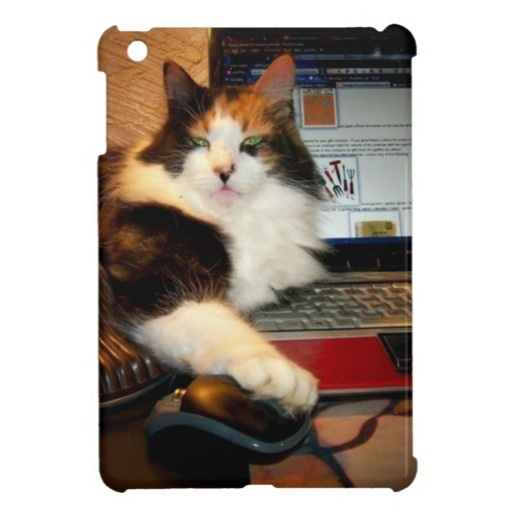 Funny Keyboard Calico Cat Ipad Mini Case Zazzle Ipad Mini Cases Pinterest