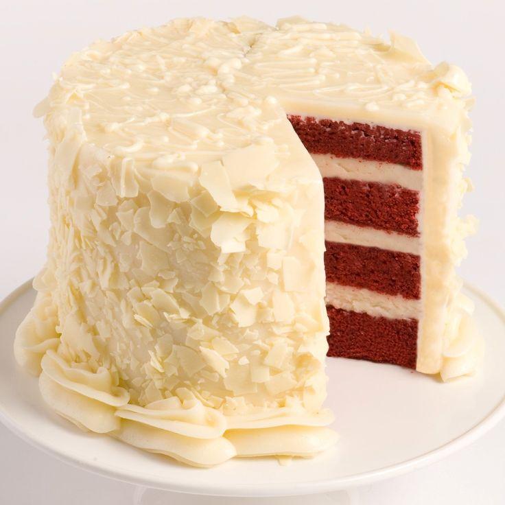 Red Velvet Layer Cake #wetakethecake