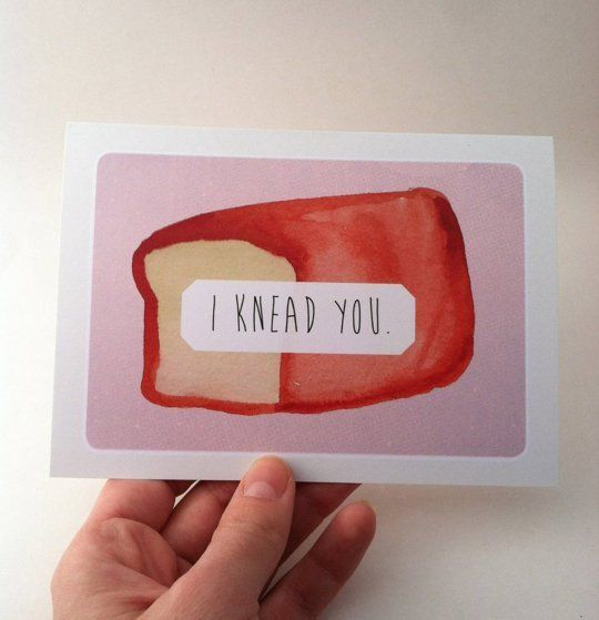 """Lettuce Grow Old Together: 10 Great Valentine Day's Cards for Food Lovers 