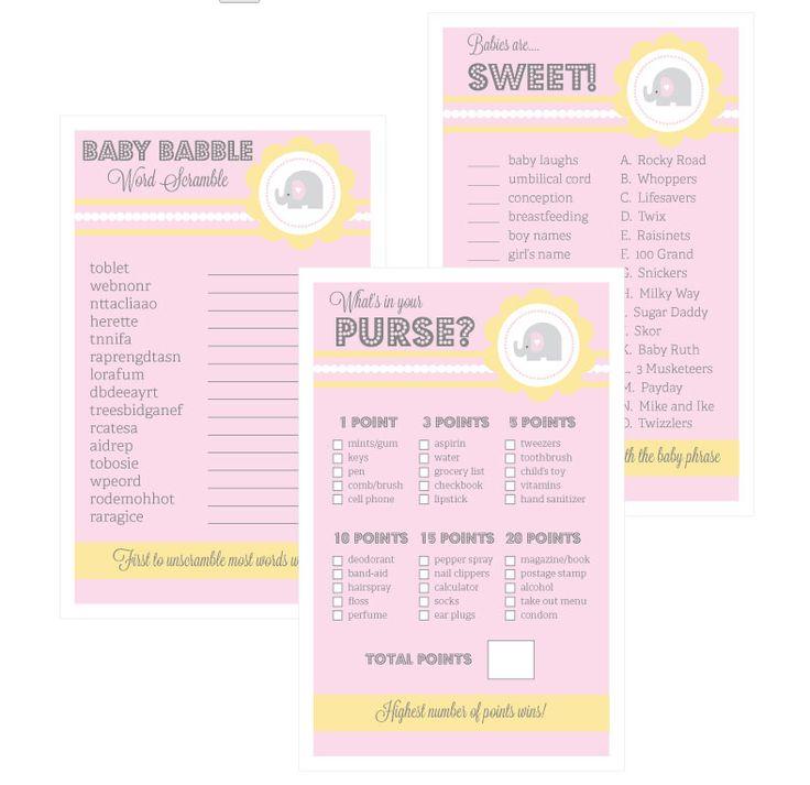 baby shower games for arshia pinterest