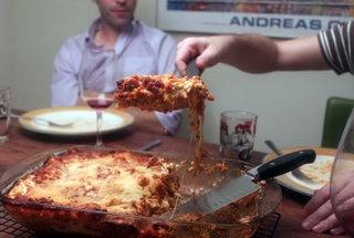 Birthday Lasagna | Yummy | Pinterest
