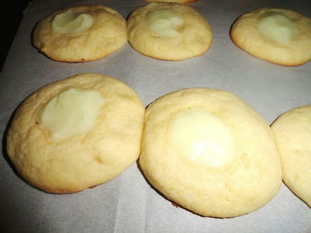 Key Lime Thumbprint Shortbread Cookies by Amish Fiction Author Sicily ...