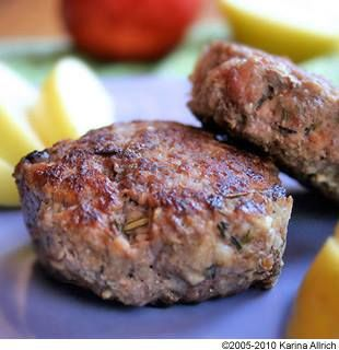 APPLE AND MAPLE BREAKFAST SAUSAGE   Sausage Making   Pinterest