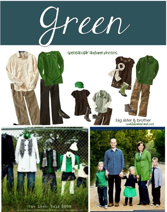 Great ideas of what to wear for fall family photos
