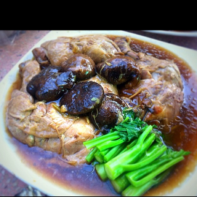 Braised chicken with mushroom | MEMade | Pinterest