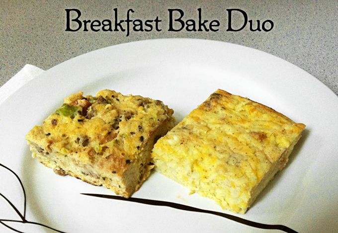 Breakfast Bake Duo: Two easy breakfast bake recipes, perfect for ...