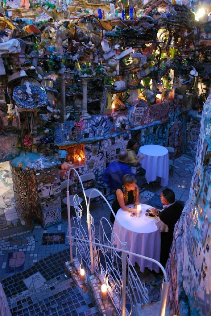 Philadelphia 39 S Magic Gardens Unique Weddings Pinterest