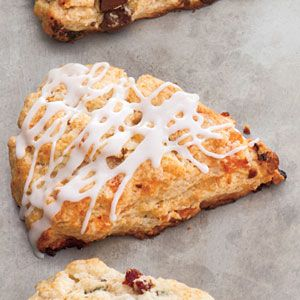 """Scones"""" with mix-in ideas: SWEET= chocolate cherry, apricot ginger ..."""
