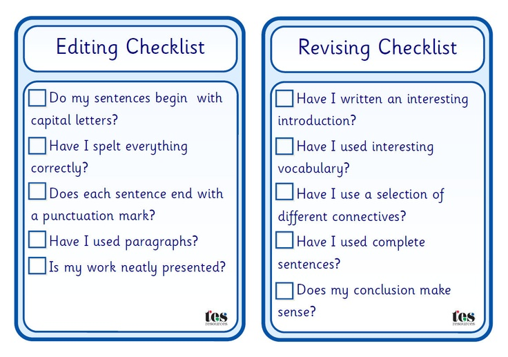 5 paragraph essay editing checklist Essay writing checklist for brainy students  you'll understand the phases of pre-writing, writing and editing  paper into a single statement then, you can start working on the essay's body the infographic shows the aspects each paragraph is supposed to contain the conclusion is very important it's the section that forms the reader's.