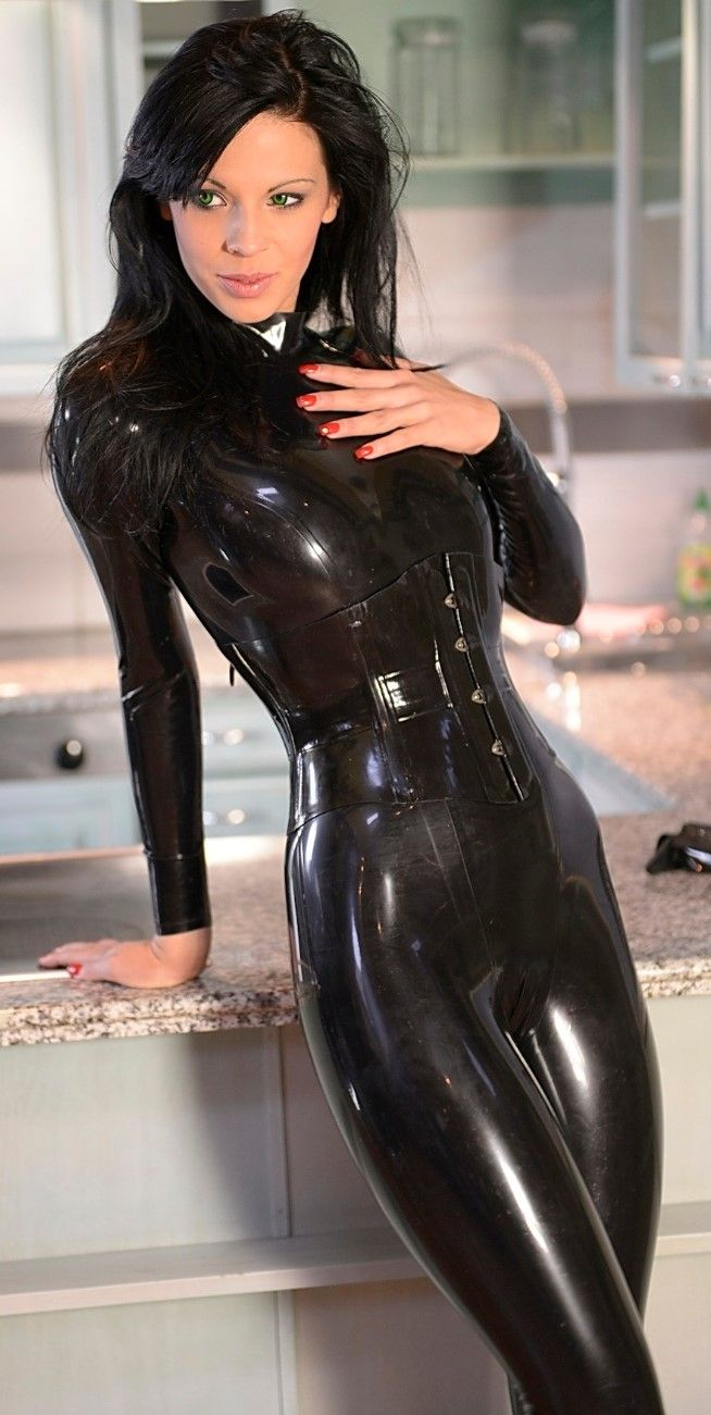 Good latex sexy leather lingerie think