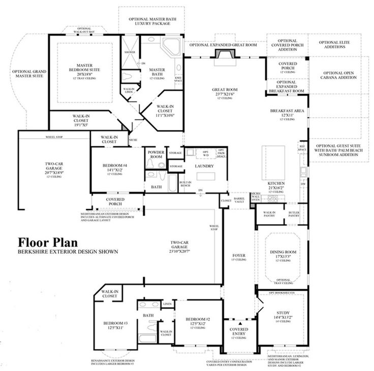 Toll Brothers Palazzo Floor Plan My Future Home