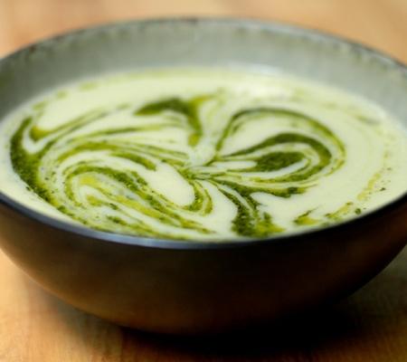 Garlicky Leek Artichoke Soup interesting-soups