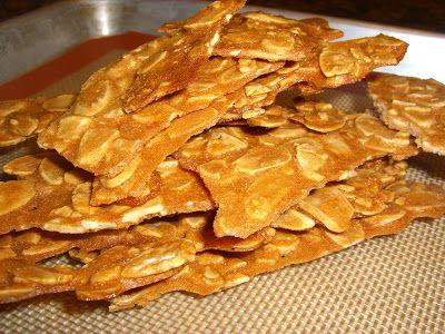 Almond Crisps | Asian Recipes | Pinterest