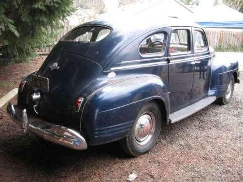 1941 plymouth model p 12 4 door sedan for 1941 plymouth 4 door sedan