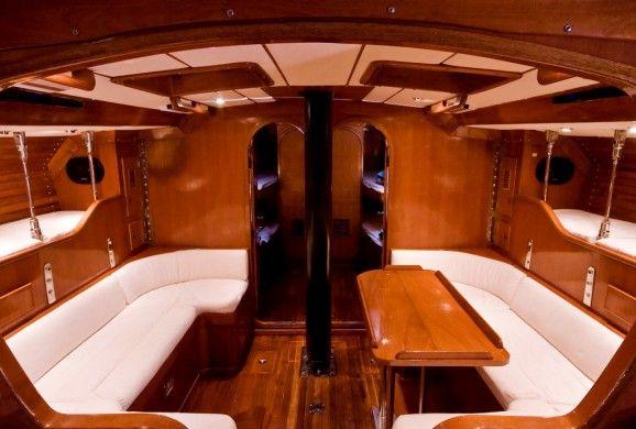 Small Sailboat Interior Design