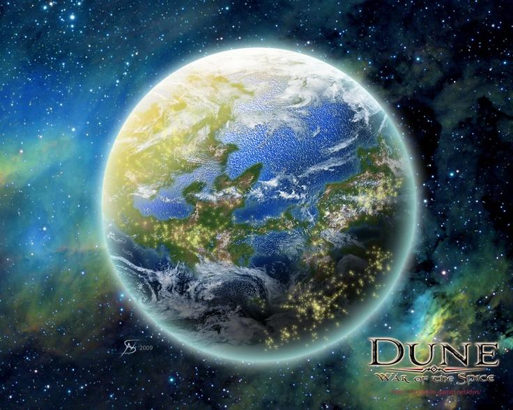 dune caladan planet map - photo #3