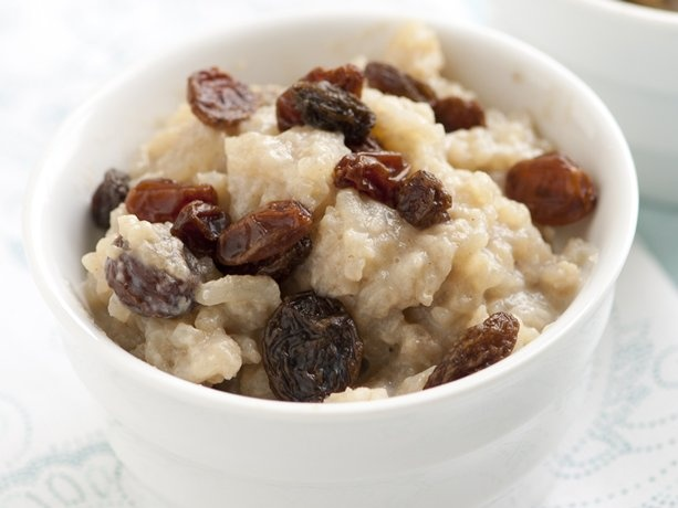 Rice Pudding: I LOVE hot rice pudding! BUT, it's better with rum ...