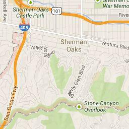 sherman oaks, ca directions by google map | sherman oaks
