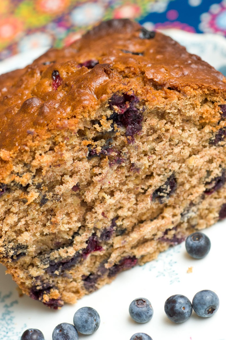 Wheat Oatmeal Blueberry Bread | Can't Resist Quick Breads & Muffins ...