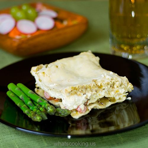 Salsa Verde Lasagna | for the love of yummy. | Pinterest